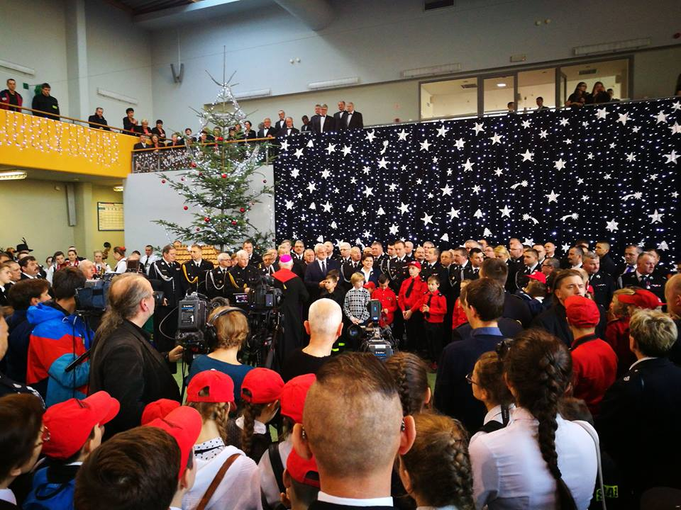 Oglądasz obraz z artykułu: Spotkanie opłatkowe Małopolskich Strażaków