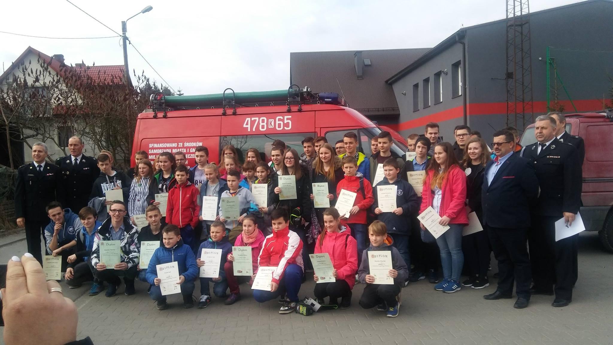 Oglądasz obraz z artykułu: Ogólnopolski Turniej Wiedzy Pożarniczej