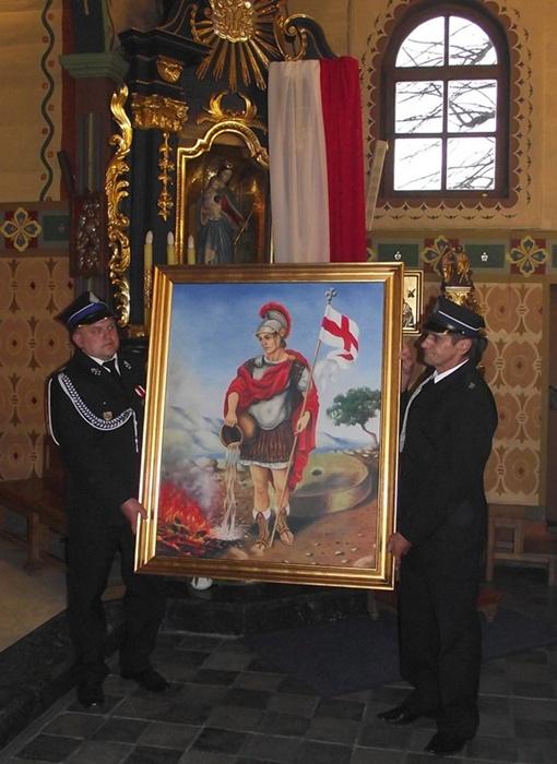 Oglądasz obraz z artykułu: Obraz św. Floriana.