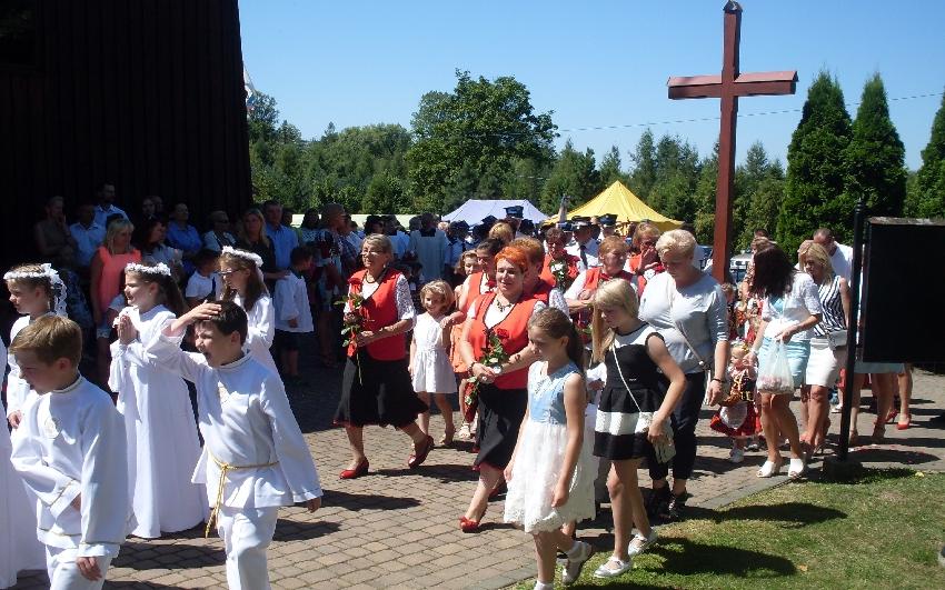 Oglądasz obraz z artykułu: KGW - Odpust parafialny św.Anny