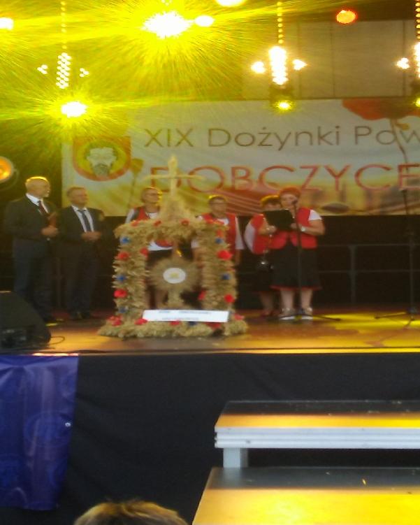 Oglądasz obraz z artykułu: 27.08.2017  Powiatowe Dożynki w Dobczycach