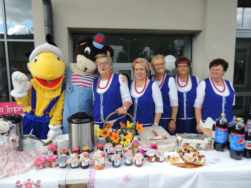 Oglądasz obraz z artykułu: KGW-Spotkanie przy Małopolskiej Szkole Gościnności na Zarabiu
