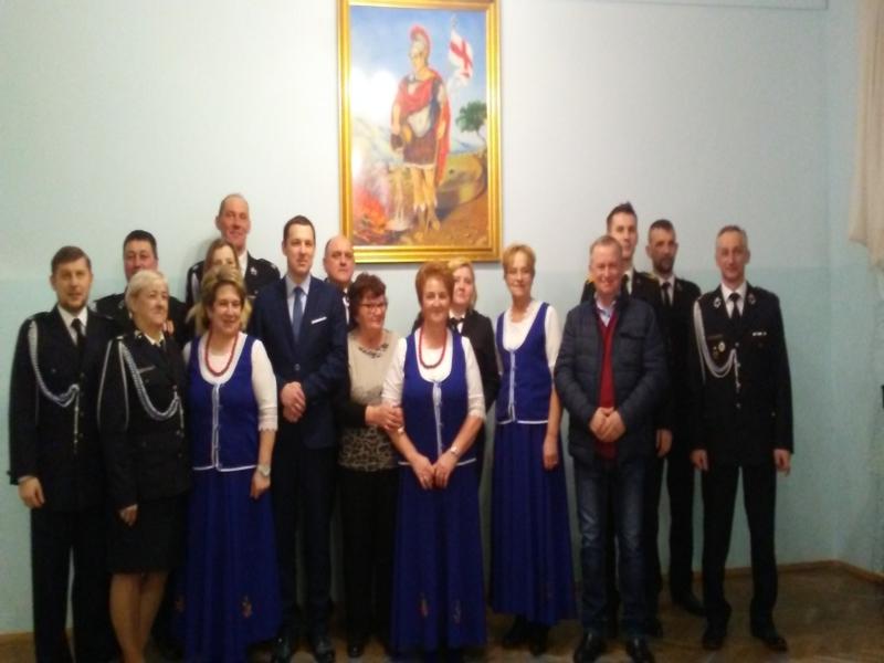 Oglądasz obraz z artykułu: KGW-Zebranie walne-sprawozdawcze OSP Krzyszkowice