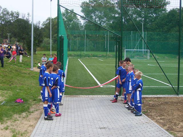 Oglądasz obraz z artykułu: Fotorelacja - otwarcie boiska