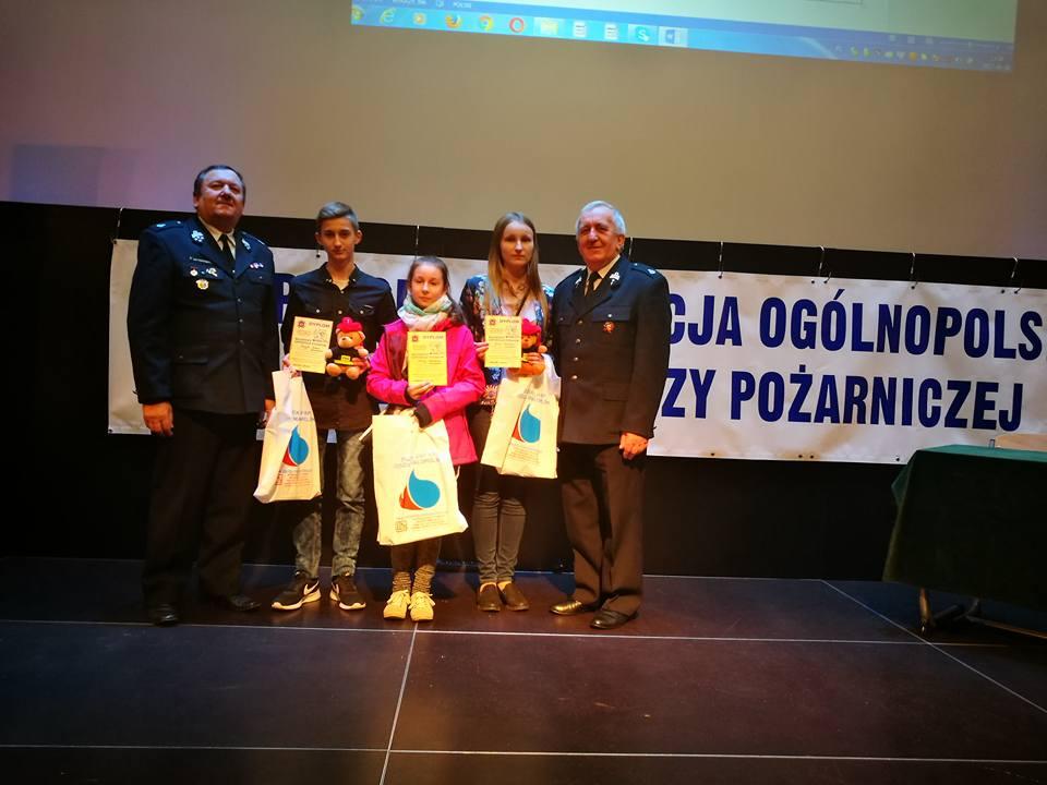 Oglądasz obraz z artykułu: Wojewódzki Ogólnopolski Turniej Wiedzy Pożarniczej