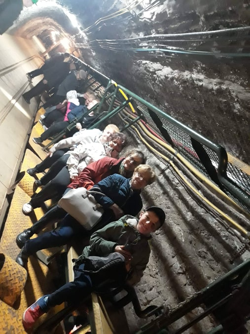 Oglądasz obraz z artykułu: KGW - Zwiedzanie kopalni soli w Bochni.